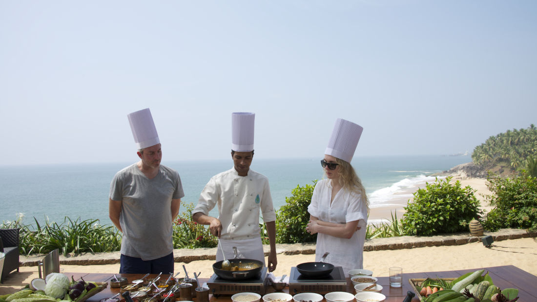 Cooking Class at Niraamaya Surya Samudra Resorts in Kovalam 3