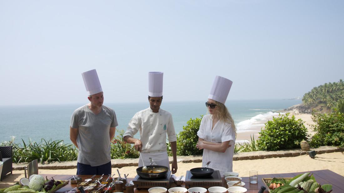 Cooking Class at Niraamaya Surya Samudra Resorts in Kovalam 3