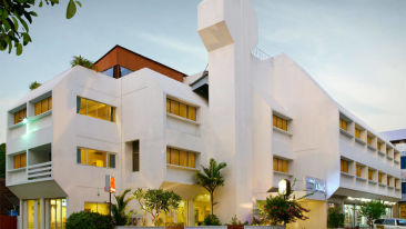 Exterior view of our hotel in Cochin, Abad Fort Kochi-17