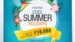 Poetree Summer package mailer 11