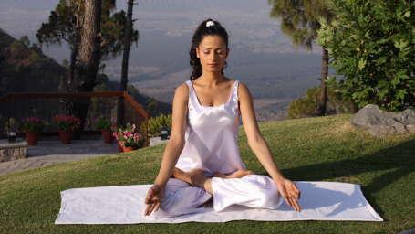 Moksha Himalaya Spa Resort, Chandigarh Chandigarh Yoga pavillion Moksha Himalaya Spa Resort Chandigarh