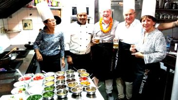 Cookery classes at Shanti Boutique Hotels 5