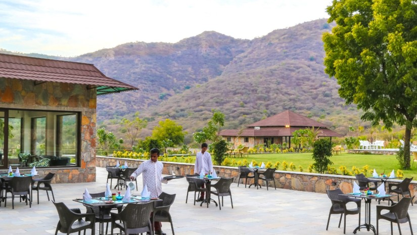 The Aravali - outdoor dining 2x yxnxg9