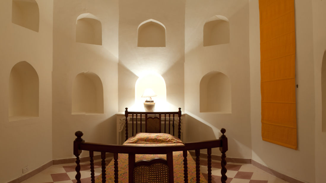The Jaya Mahal_Tijara Fort Palace_ Hotel Rooms in Rajasthan_ Rooms Near Jaipur