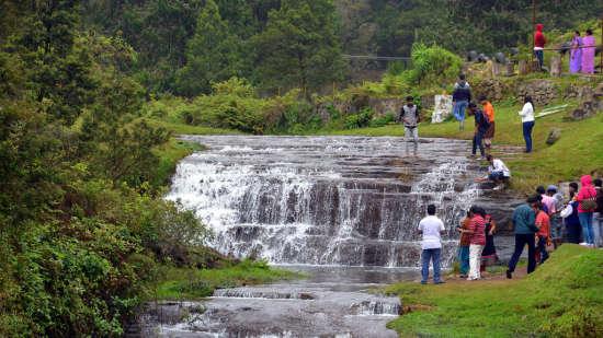 Pambar falls, The Carlton Kodaikanal