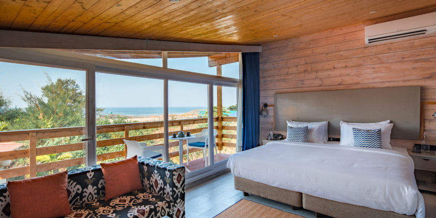 alt-text Living Room Chalet - The Living Room Beach Resort Morjim- 1st floor
