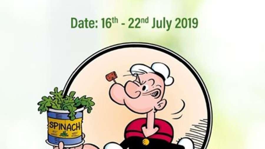 spinach week pallava
