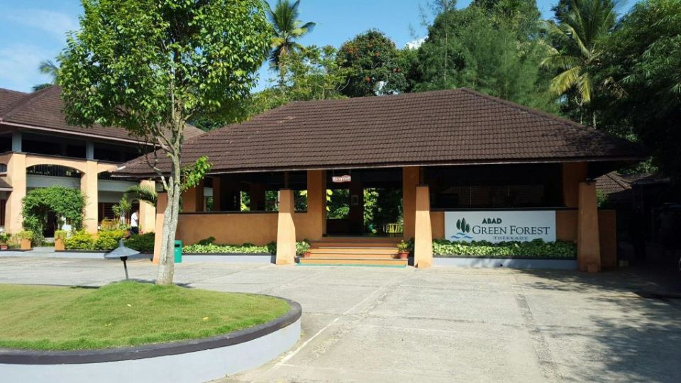 Exterior view of our resort in Thekkady, Abad Green Forest, Thekkady-11