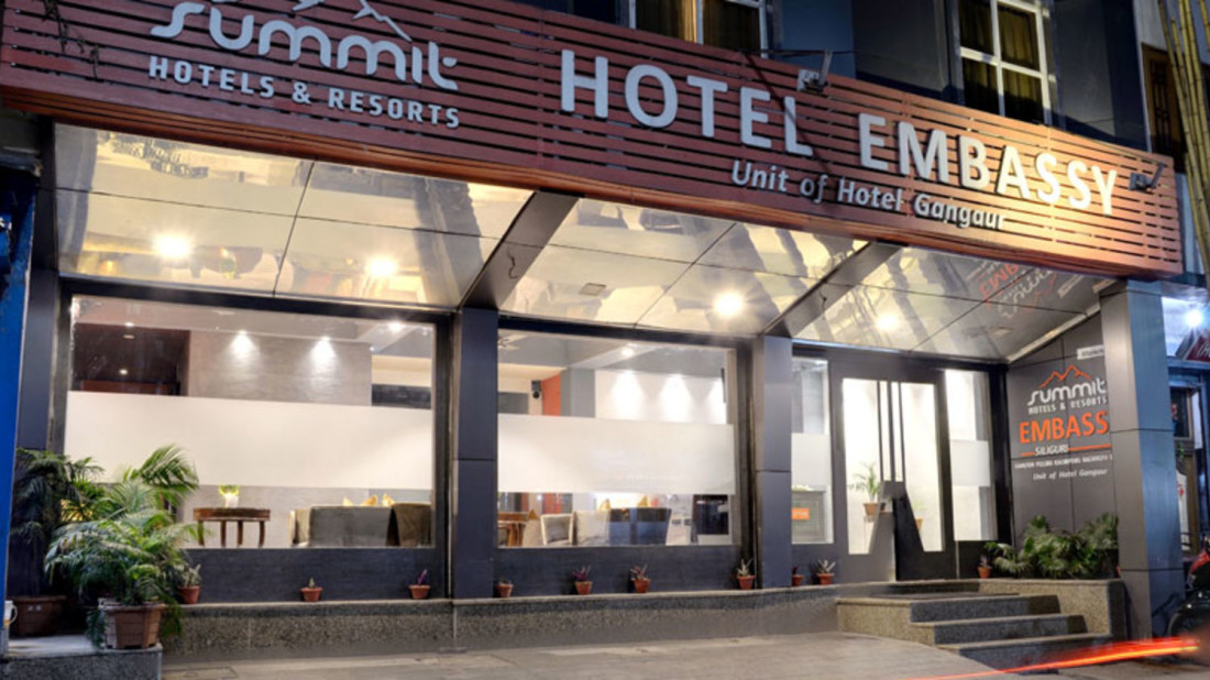 Facade Mount Embassy Hotel Siliguri Hotels in Siliguri h44d9o
