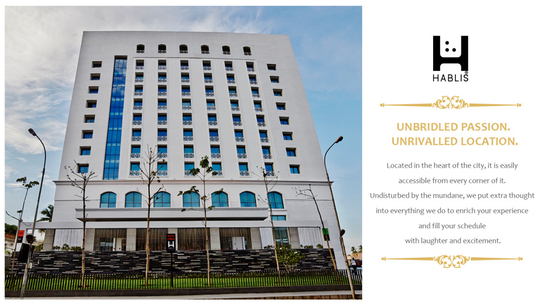 Location, Hablis Hotel Chennai, Banquet Halls in Chennai