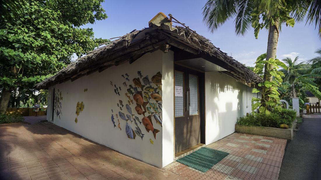 Bay retreat bar restaurant Sai Priya Beach Resort Vizag