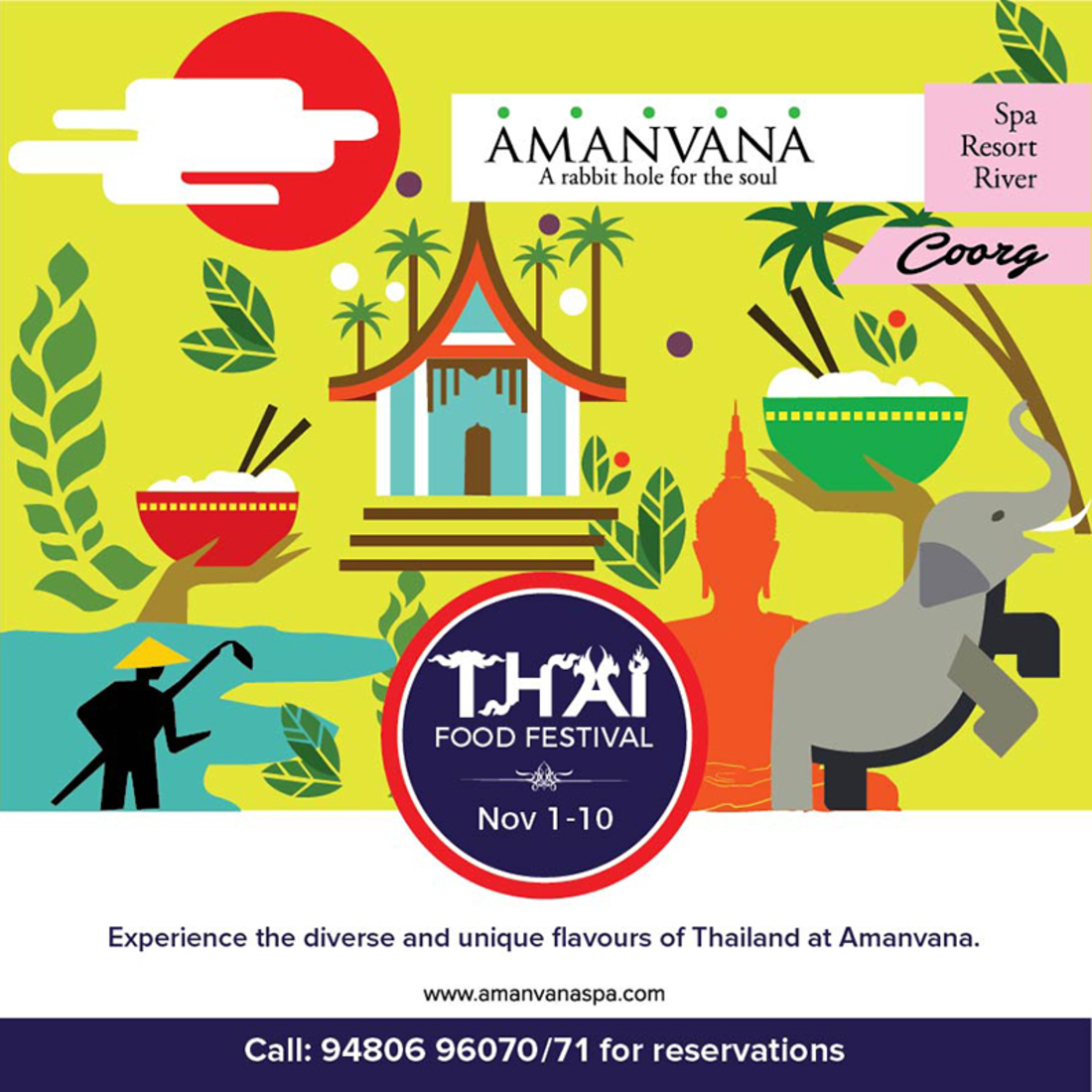 Amanvana Resort and Spa Coorg