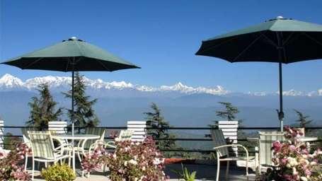 Sun n Snow Inn Hotel Kausani Kausani Large Facade Sun n Snow Hotel Kausani Resorts in Uttarakhand 1