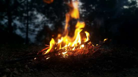 Bonfire at LaRiSa Mountain Resort Manali - Best Resorts in Manali