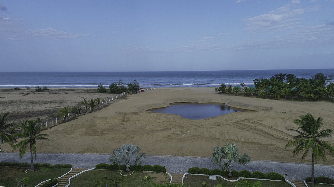 Aerial view of Chariot Beach Resort 6