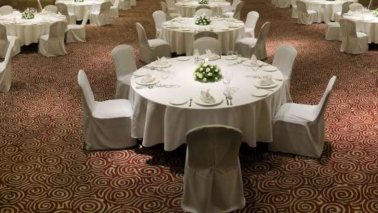 Round TAble Set Up Park Plaza Bengaluru
