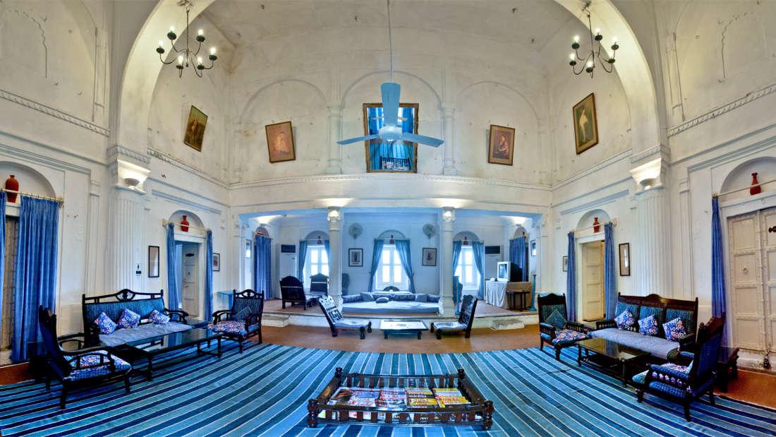 Hill Fort Kesroli - Alwar Kesroli Darbar Hall Hotel Hill fort Kesroli AlwaR Rajasthan 1