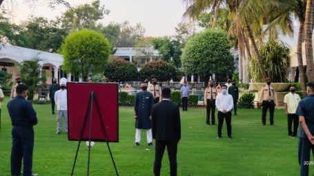 staff trainig at palace
