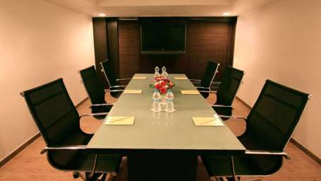 Iris Hotel Bangalore Board Room at Iris Hotel on Brigade Road Bangalore