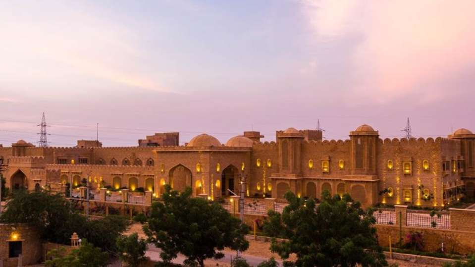 Facade at Sairafort Sarovar Portico Jaisalmer Hotel Palace in Jaisalmer