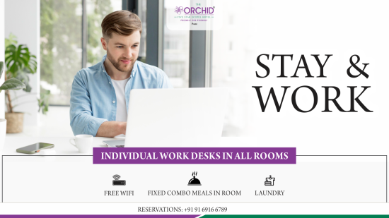 Orchid - Stay Work Package - Website