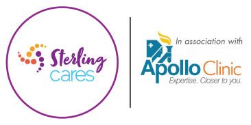 Sterling Cares and Apollo Clinic logo-01