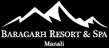 Baragarh Resort and Spa, Centrally Heated Mountain Side Resort, Manali Manali LOGO white