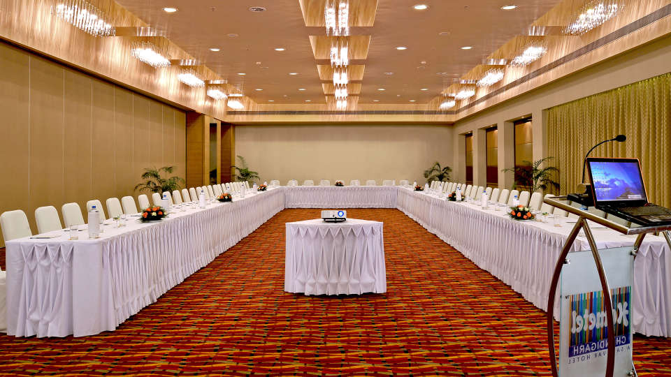 Conference Hall at Hometel Chandigarh, best hotels in chandigarh 3
