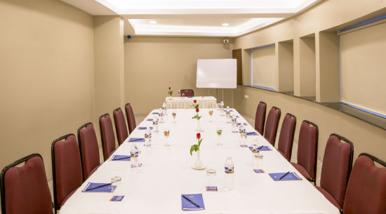meeting room at at Hotel Sarovar Portico Lonavala