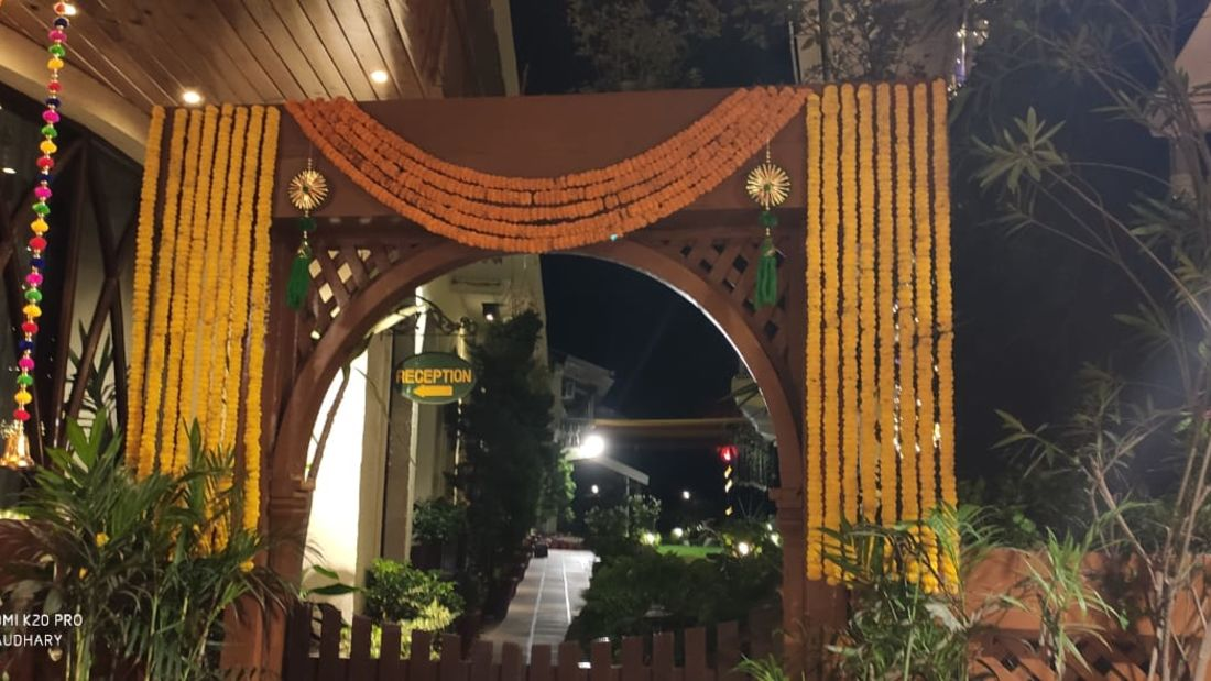 Banquet hall at Hotel Mount View, Weddings in Dalhousie, Banquet Hall in Dalhousie 1
