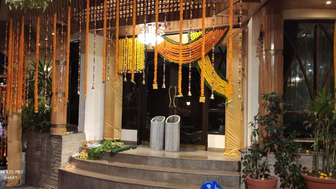 Banquet hall at Hotel Mount View, Weddings in Dalhousie, Banquet Hall in Dalhousie 5