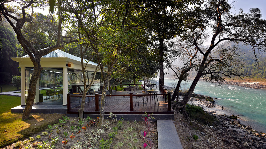 The Glasshouse on the Ganges Above Rishikesh 2