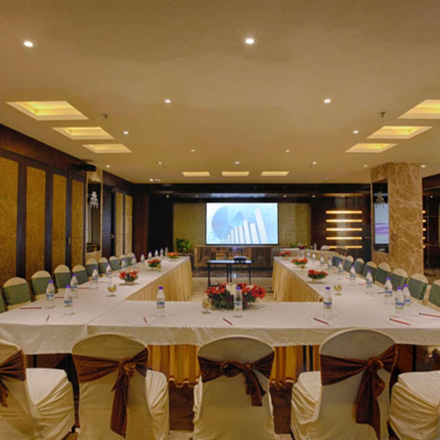 alt-text Banquet Hall Levana Hotel Hazratganj Budget Hotels in Lucknow