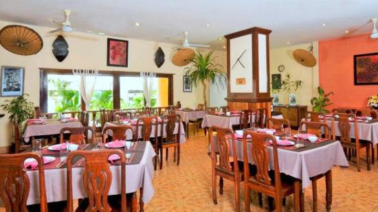 Pakse Hotel & Restaurant, Champasak Pakse Restaurant Le Patioh De Noy Pakse Hotel Restaurant Champasak