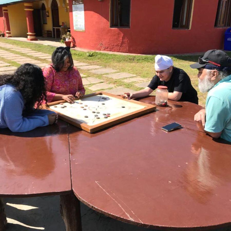 Let s Camp Sitlakhet activity carrom