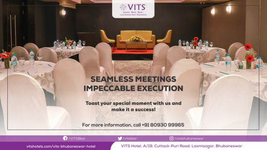 Banquet Promotion VITS Bhubaneswar Website Banner 1388x768 PX