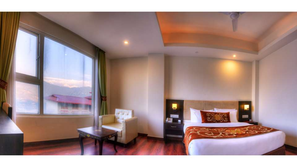 Deluxe Plus Room at Summit Denzong Hotel Spa Gangtok 121