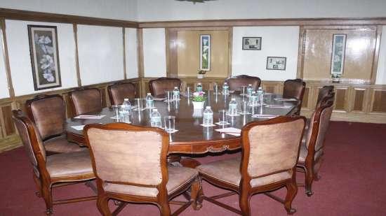 Board Room of Central Heritage Hotel Darjeeling