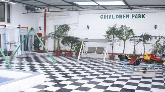Childrens park of  Central Heritage Hotel Darjeeling Central Hotels