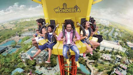 Wonderla Amusement Parks & Resort  Flash Tower
