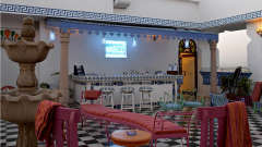 taBlu - Rooftop Cafe Bar and Art Gallery - at Hotel Clarks Amer Jaipur