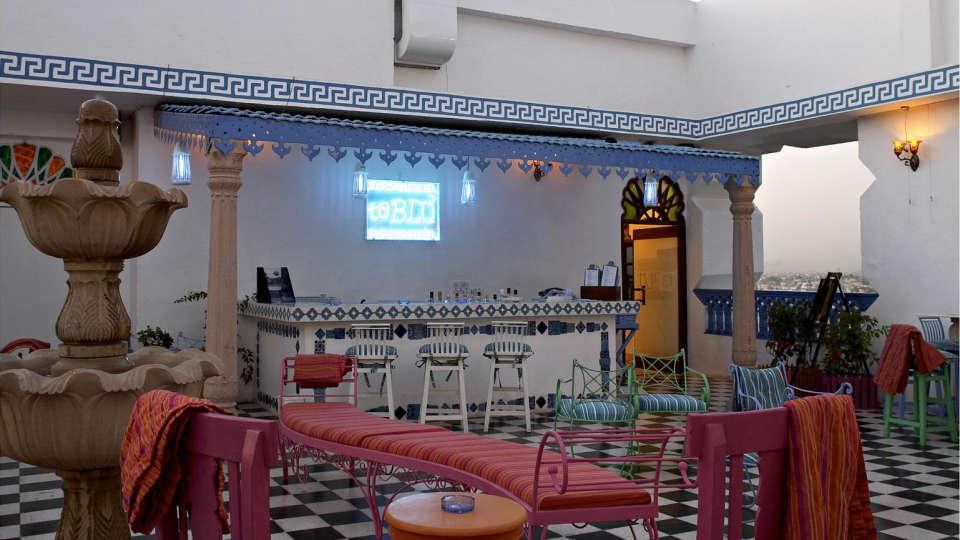 taBlu - Rooftop Cafe Bar and Art Gallery - at Clarks Amer Jaipur
