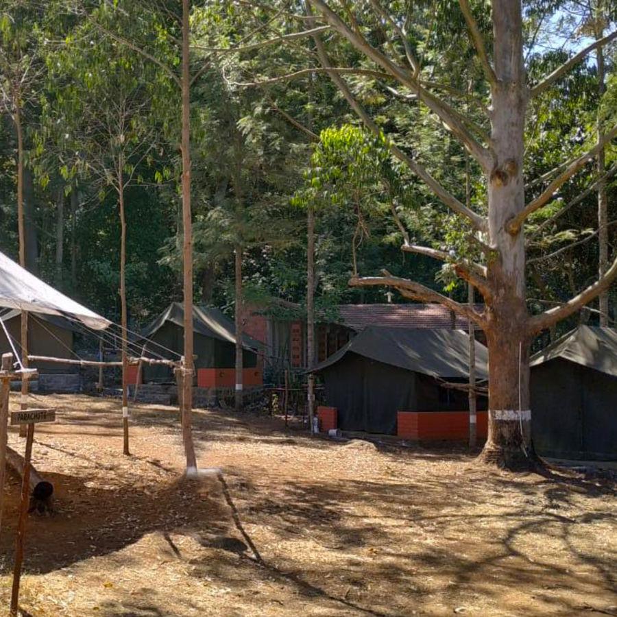 alt-text Let s Camp Yercaud tents 1