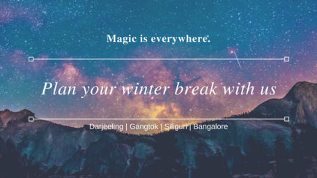 Magic is everywhere.