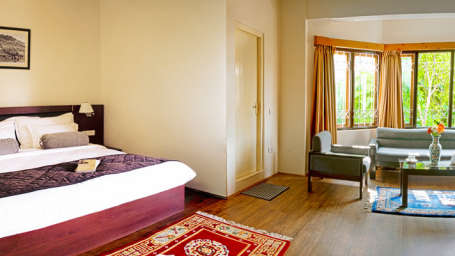 IDA Dechen Villa Hotel, Gangtok Gangtok executive rooms IDA Dechen Villa hotel Gangtok Sikkim