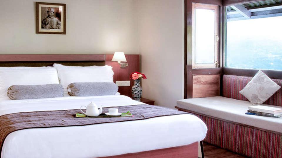 IDA Dechen Villa Hotel, Gangtok Gangtok deluxe rooms IDA Dechen Villa hotel Gangtok Sikkim