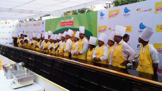 Guinness World Record Longest Dosa Hotel Daspalla Hyderabad 1