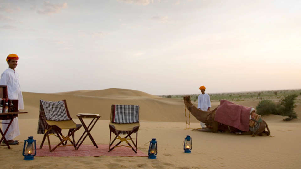 Sundowners trek - Umaid Lake Palace Hotel Kalakho Dausa Rajasthan