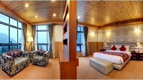Presidential Suite Summit Sobralia Resort Spa Namchi Hotels in Namchi