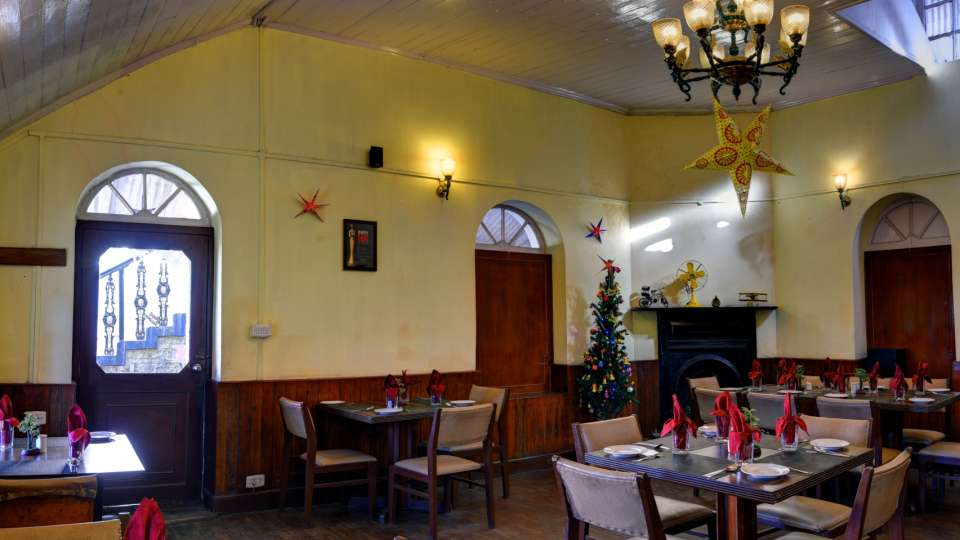Whistling Steam- Dining at Summit Swiss Heritage Hotel Darjeeling 1